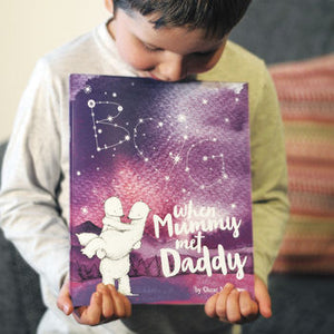 When Mummy Met Daddy Personalized Book