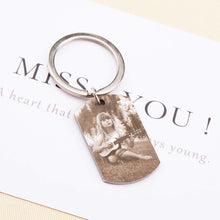 Load image into Gallery viewer, Personalized Photo Keychain