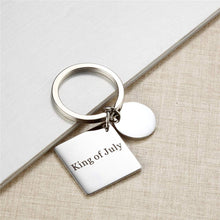 Load image into Gallery viewer, Custom Engraved Calendar Keyring