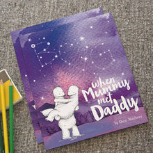 Load image into Gallery viewer, When Mummy Met Daddy Personalized Book