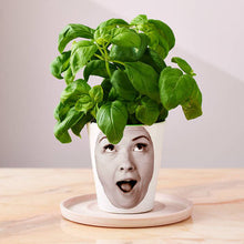 Load image into Gallery viewer, Personalized 'Face Plant' Photograph Plant Pot