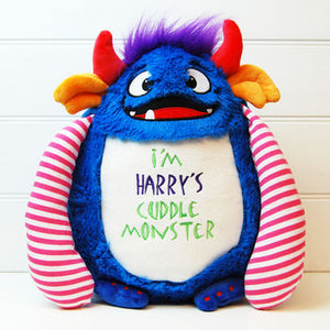 Personalized Cuddle Monster Soft Toy