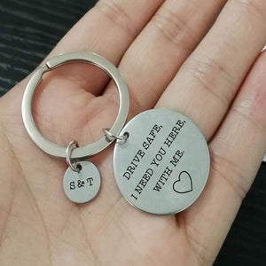 Engraving Name Keychain Gift