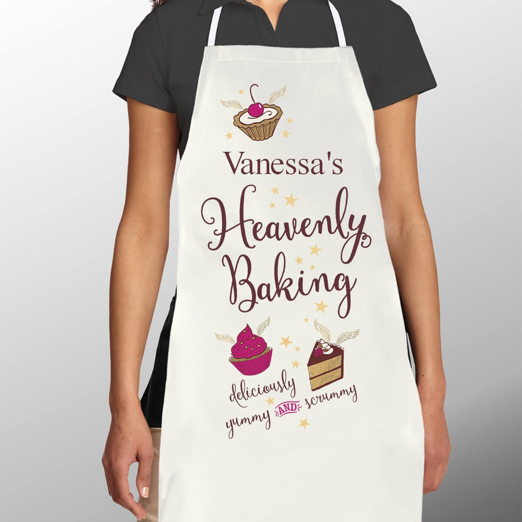 Personalised Heavenly Baking Apron