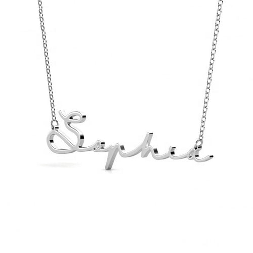 Personalised Signature Name Necklace