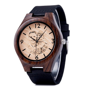 Personalised Men Watch Wooden Timepieces