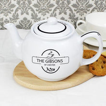 Load image into Gallery viewer, Personalised Family Teapot