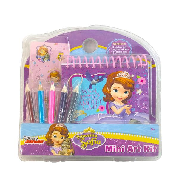 MINI ART KIT BLISTER PRINCESA