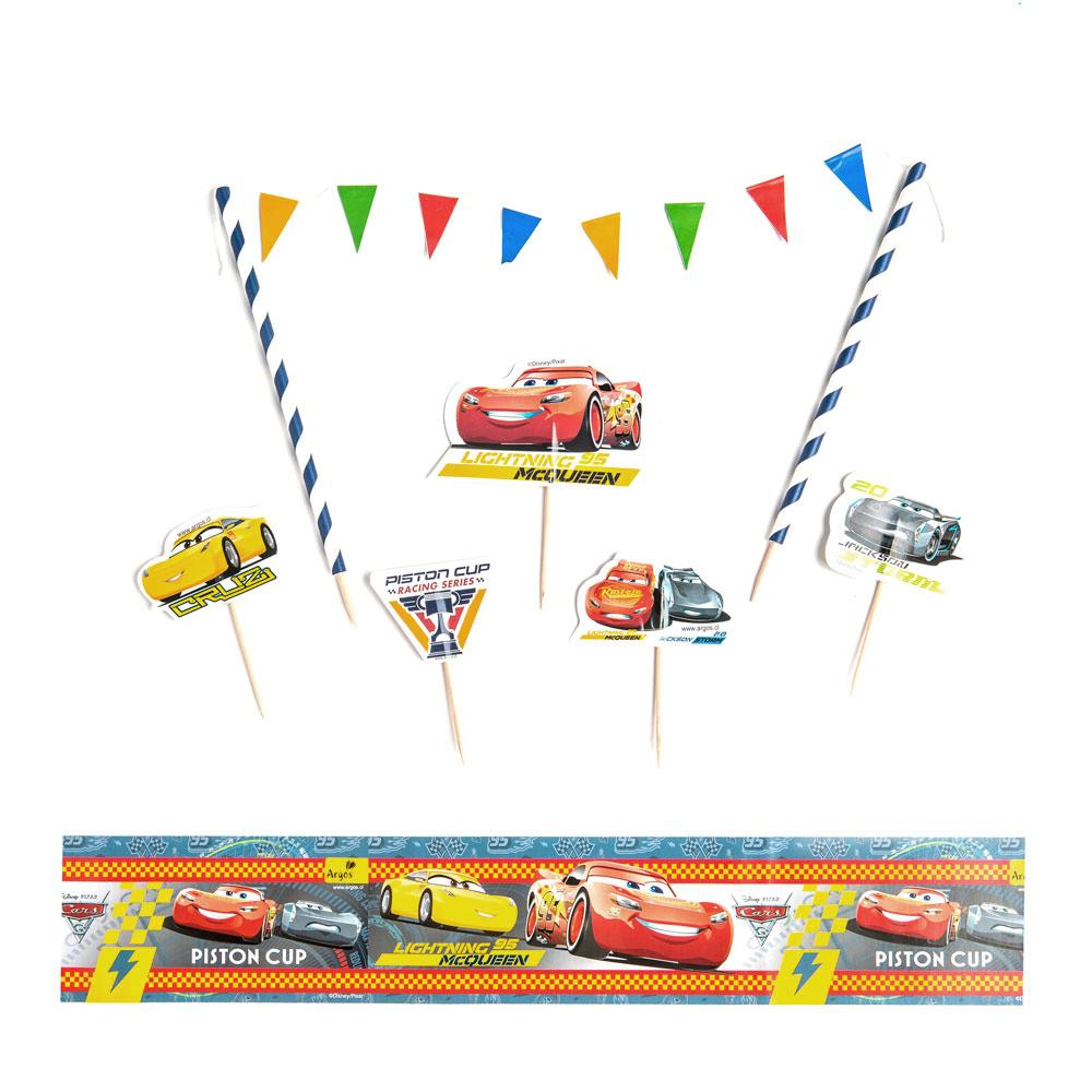 DECORACION TORTA CARS