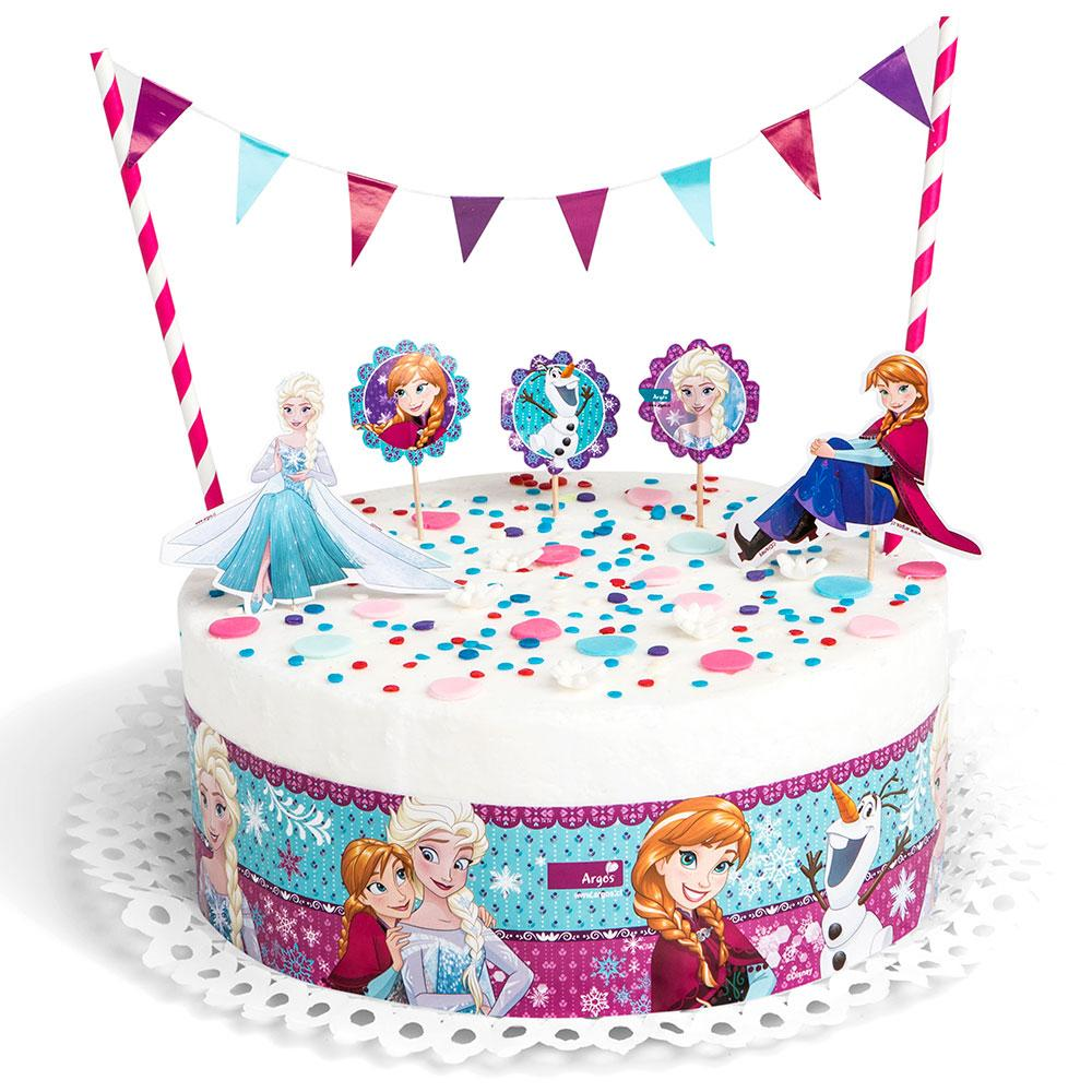DECORACION TORTA FROZEN
