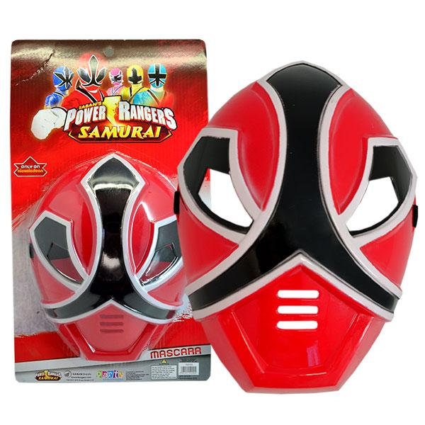 MASCARA POWER RANGER ROJO