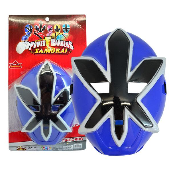 MASCARA POWER RANGER AZUL