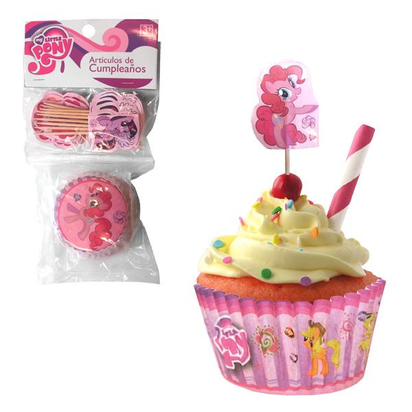 SET CUPCAKES Y PICKS MY LITTLE PONY PINKIE