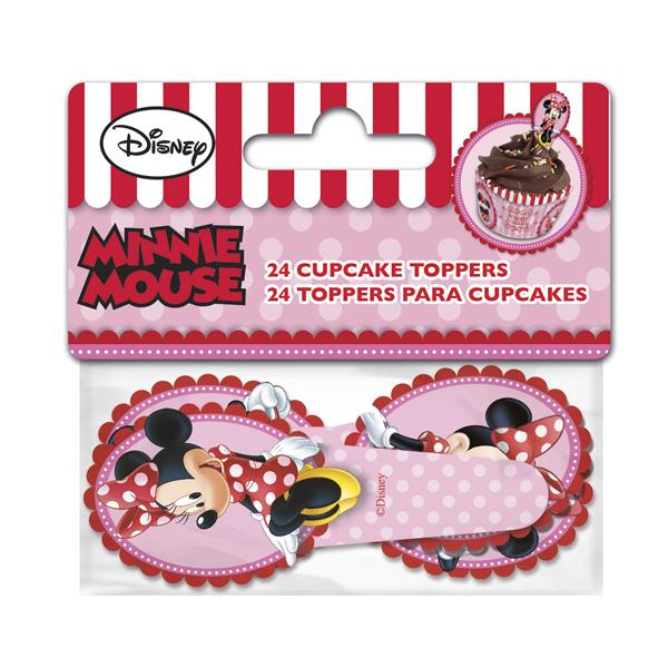 TOPPERS CUPCAKES MINNIE