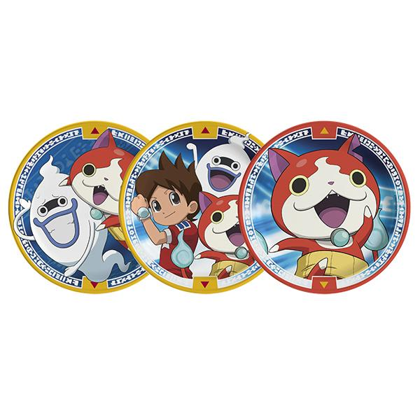 PLATO YOKAI WATCH   6 UNIDADES