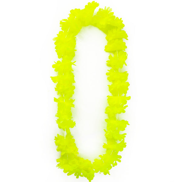COLLAR HAWAI FLUOR AMARILLO 7 CM