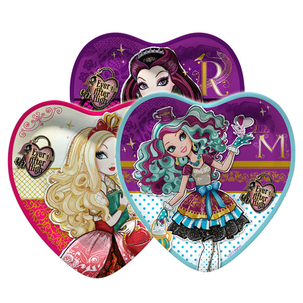 PLATOS CORAZON EVER AFTER HIGH X 6