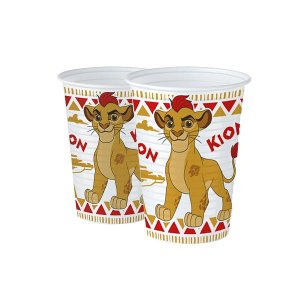 VASO LION GUARD   6 UNIDADES