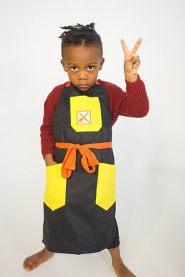 WHOLE GRAIN MUSTARD APRON - Knife N Spoon
