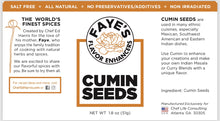 Load image into Gallery viewer, ALL NATURAL WHOLE CUMIN SEEDS - Knife N Spoon