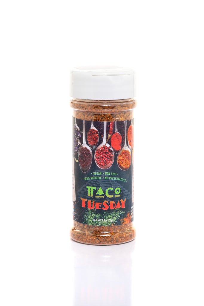 TACO TUESDAY seasoning - CHEF ED HARRIS