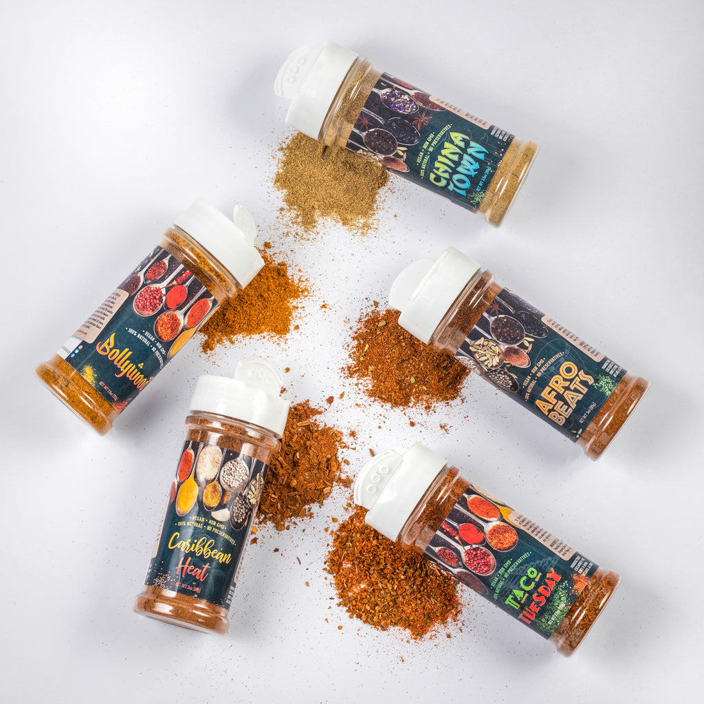 The World Traveler Spice Collection - CHEF ED HARRIS