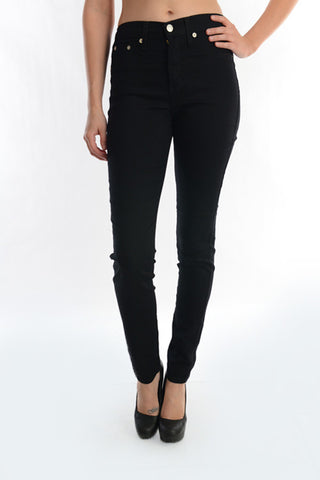 Judy Blue Black High Waisted Skinny Plus