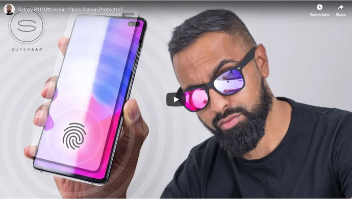 Galaxy S10 Ultrasonic Glass Screen Protector? by SuperSaf