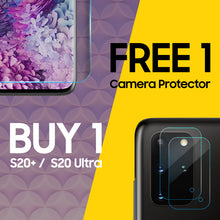Load image into Gallery viewer, BOGO - Galaxy S20+/S20U Dome Glass & Camera Protector