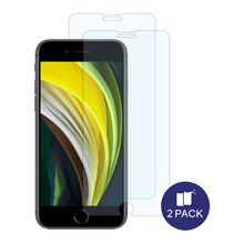 Load image into Gallery viewer, [ONLY $9.99] iPhone SE EZ Tempered Glass Screen Protector - 2 Pack