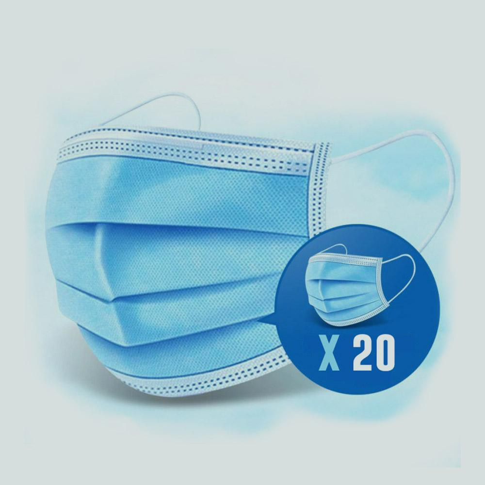 DISPOSABLE FACE MASK (20pcs)