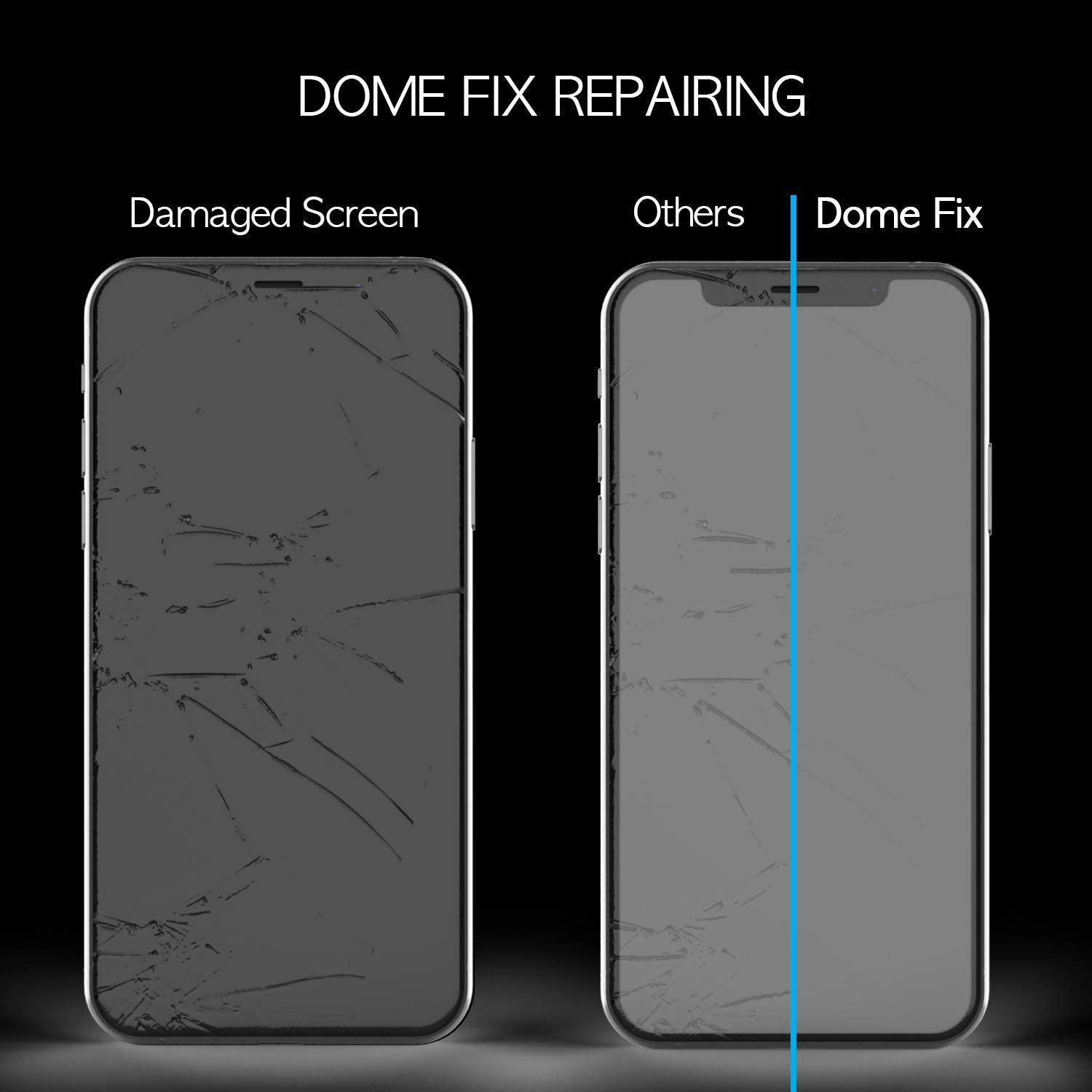 iPhone XR Dome Glass Tempered Glass Screen Protector