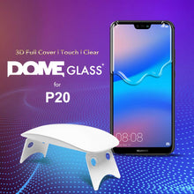 Load image into Gallery viewer, Huawei P20 Dome Glass Tempered Glass Screen Protector