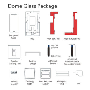 Huawei P20 Dome Glass Tempered Glass Screen Protector