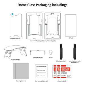Google Pixel 2XL Dome Glass Tempered Glass Screen Protector