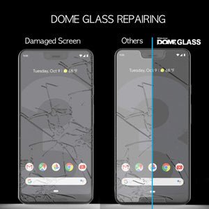 Google Pixel 3XL Dome Glass Tempered Glass Screen Protector