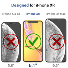 Load image into Gallery viewer, iPhone 11 / XR Dome Glass Tempered Glass Screen Protector