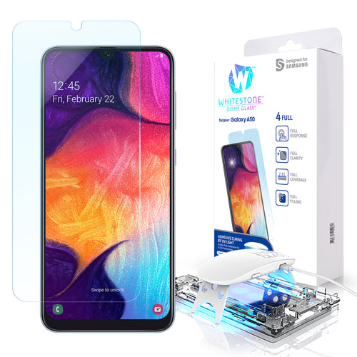 Galaxy A50 / A30 Dome Glass Tempered Glass Screen Protector