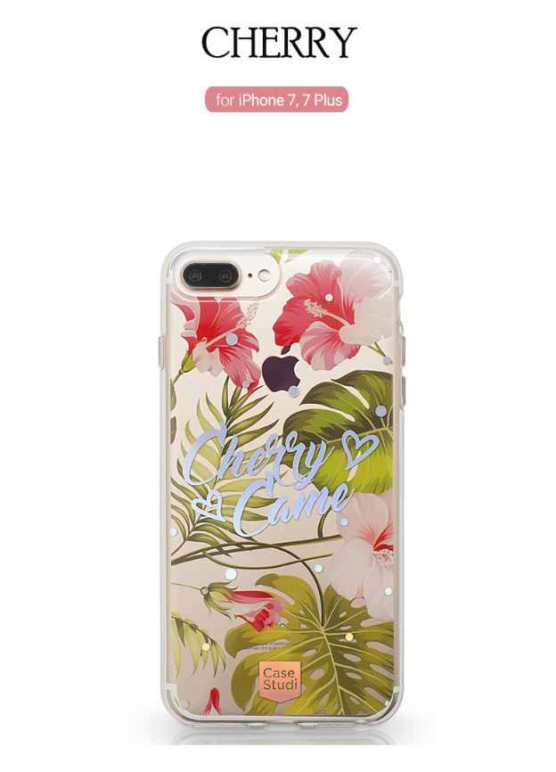 best sneakers a9c9d fe8bf CaseStudi Prism Collection: Cherry Came Phone Case for iPhone 7 & 7 Plus