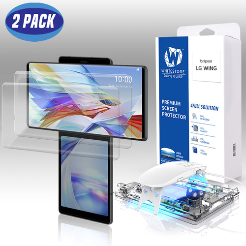 LG Wing Dome Glass Tempered Glass Screen Protector