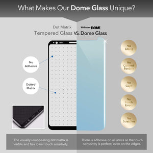 Vivo Nex A/S Dome Glass Tempered Glass Screen Protector
