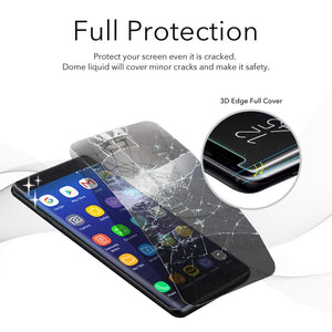 Galaxy S8 Dome Glass Tempered Glass Screen Protector