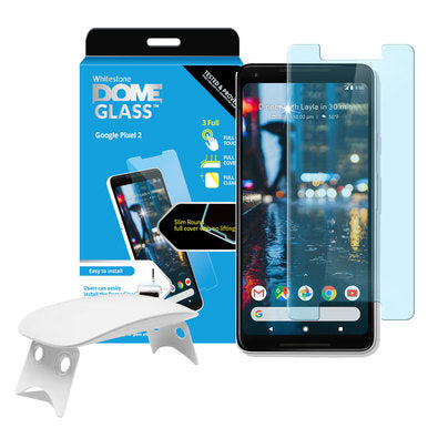 Google Pixel 2 Dome Glass Tempered Glass Screen Protector