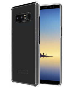 Galaxy Note 8 Dome Levitation Series Clear Case