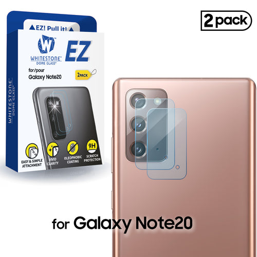 Whitestone EZ Note 20 Camera Screen Tempered Glass Protector - 2 Pack