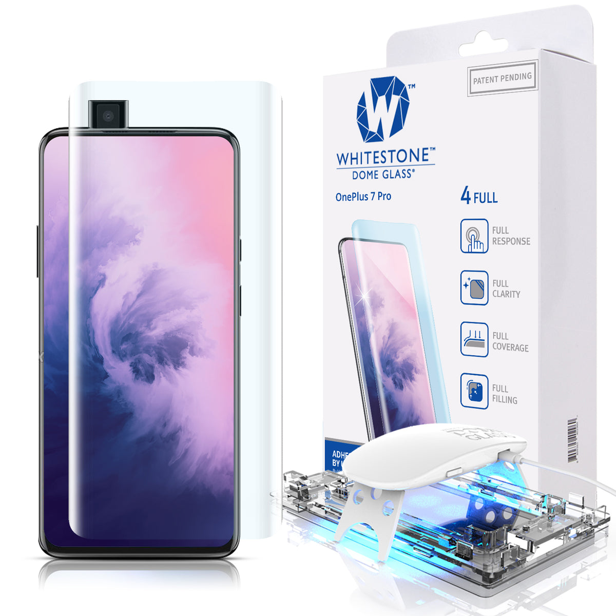 f96a3f111572 Oneplus 7 Pro Tempered Glass Screen Protector
