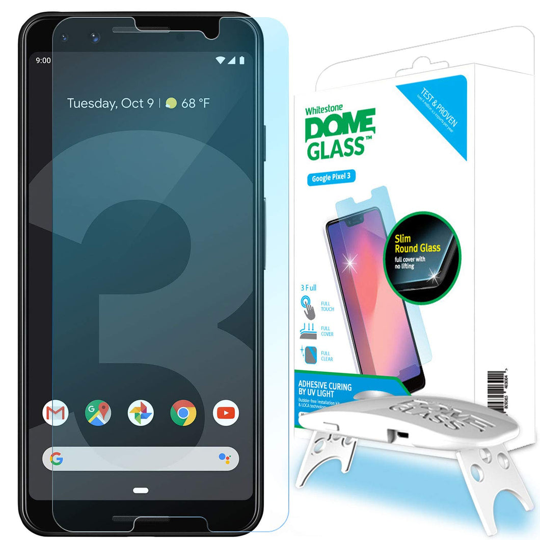 Google Pixel 3 Dome Glass Tempered Glass Screen Protector