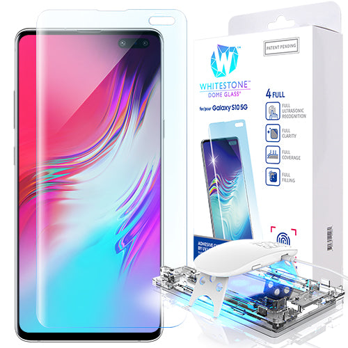 Galaxy S10 5G Dome Glass Tempered Glass Screen Protector