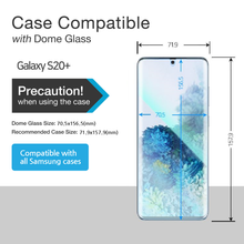 Load image into Gallery viewer, Galaxy S20 Plus / S20 Plus 5G Dome Glass Tempered Glass Screen Protector