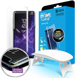 Galaxy S9 Dome Glass Tempered Glass Screen Protector